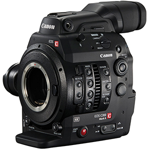 Canon C300mk2 4K/60P/120FPS/EF/RAW