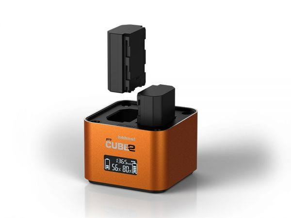 Hahnel ProCube2 Twin Charger for Sony and AA Batteries