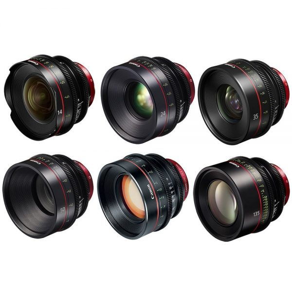 Canon CN-E / EF - FFULL SET