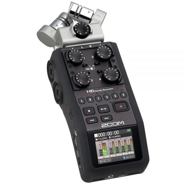 Аудио рекордер - Zoom H6 Multi-Channel Handheld Recorder