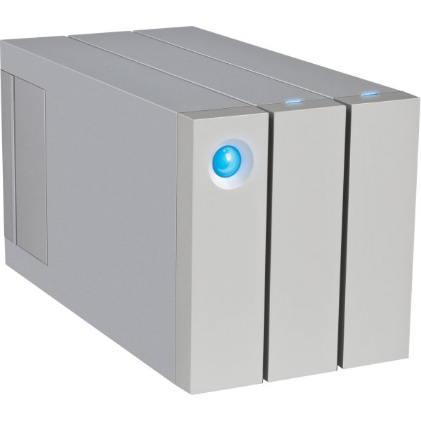 LaCie 2Big Thunderbolt2 & USB 3.0 RAID Drive 8TB with cable