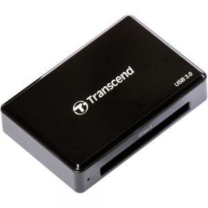Четец за карти Transcend RDF2, черен - TS-RDF2