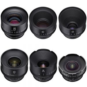 XEEN FULL SET LENSES / EF